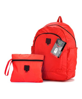 Bright Red GO!SAC Backpack