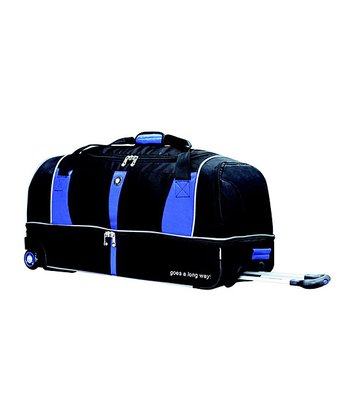 Royal Blue Drop-Bottom Wheeled 30'' Duffel