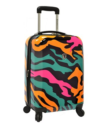Colorful Camouflage Hardside Wheeled 21'' Carry-On