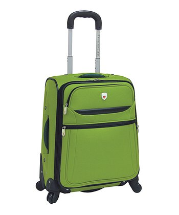 Green 20'' Expandable Wheeled Carry-On
