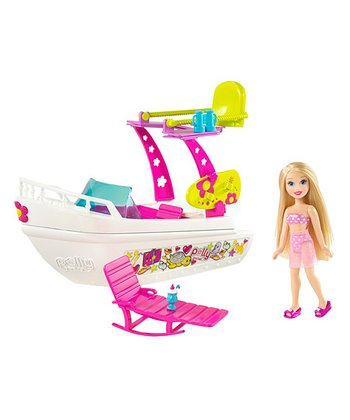 Polly Pocket & Splash Boat Set