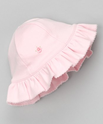 Pink Pretty Bow Sunhat