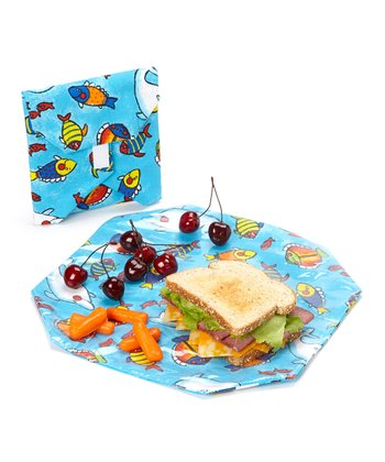 Fish Wrap & Pouch Set