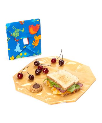 Zoo Wrap & Pouch Set