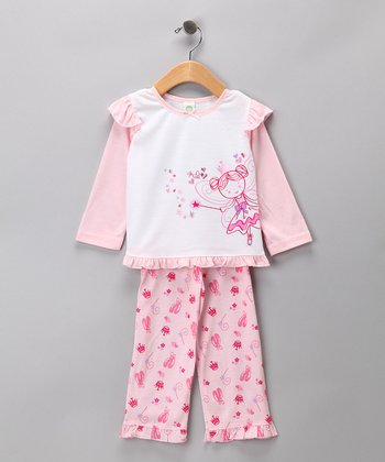 Pink Fairy Princess Pajama Set - Infant