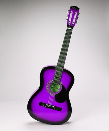 Purple 38'' Acoustic-Electric Guitar