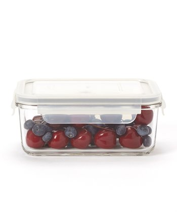 Glasslock Rectangular 37-Oz. Food Storage Container
