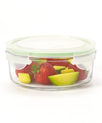 Glasslock Round 24-Oz. Food Storage Container