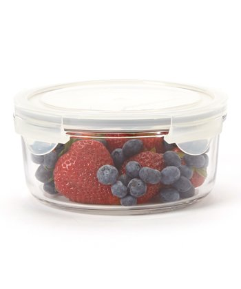Glasslock Round 32-Oz. Food Storage Container