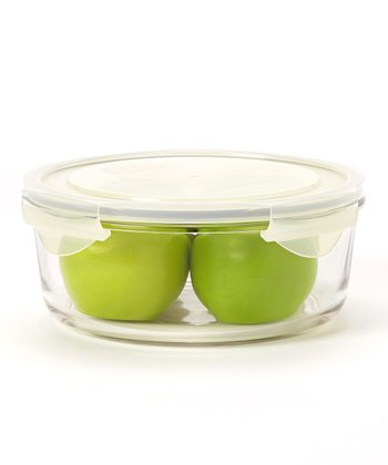Glasslock Round 68-Oz. Food Storage Container