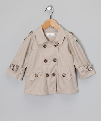 Beige Trench Coat - Toddler & Girls