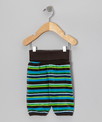 After Dark Stripe Aiko Pants - Infant