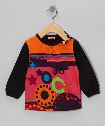 Black Bello Top - Toddler