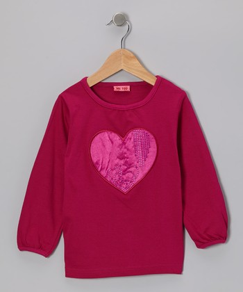 Aster Alona Bam Heart Top - Toddler & Girls