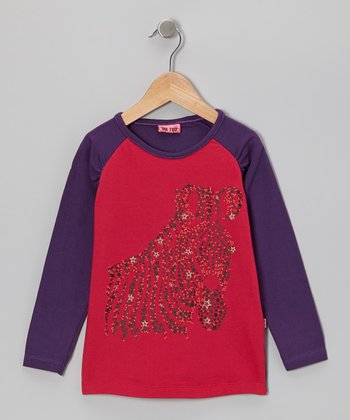 Crown Jewel Belis Bam Raglan Tee - Toddler & Girls