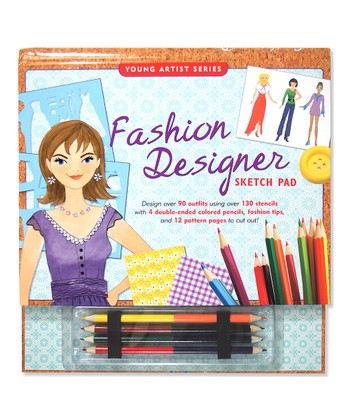 Fashion Designer Sketch Pad Activity Set