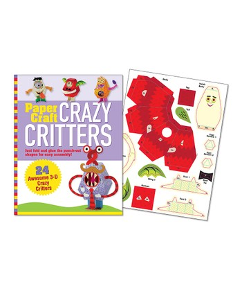 Crazy Critters Paper Craft Kit