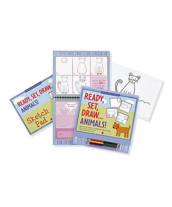 Ready, Set, Draw: Animals Set