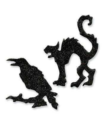 Mini Cat & Raven Magnetic Movers & Shapers Die Set