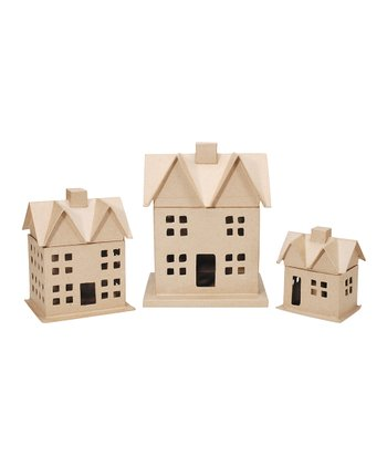 Papier-Mâché House Kit
