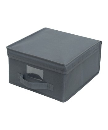 Gray Medium Storage Box