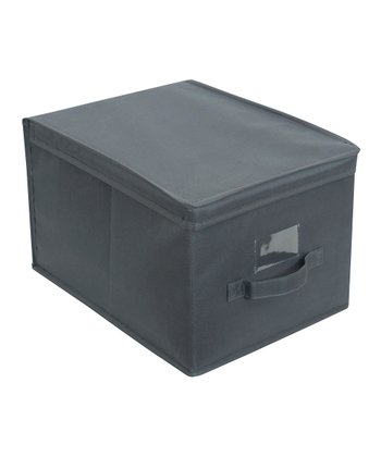 Gray Large Storage Box