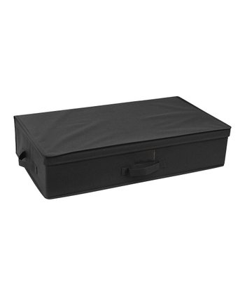 Black Under-Bed Storage Box
