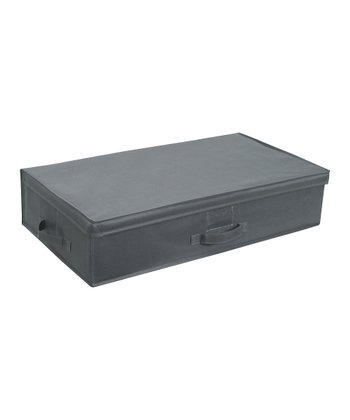 Gray Under-Bed Storage Box