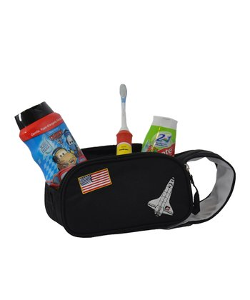 Black Space Accessory & Toiletry Bag