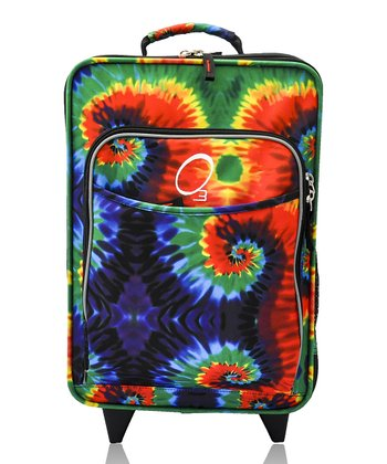 Tie-Dye All-in-One Rolling Suitcase