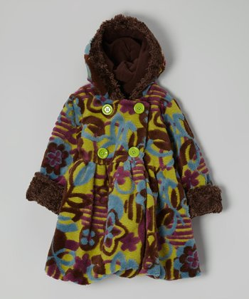 Kiwi Modern Garden Mary Jayne Coat - Toddler