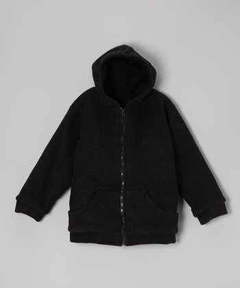 Black Guitar Fleece Zip-Up Hoodie - Infant, Toddler & Girls