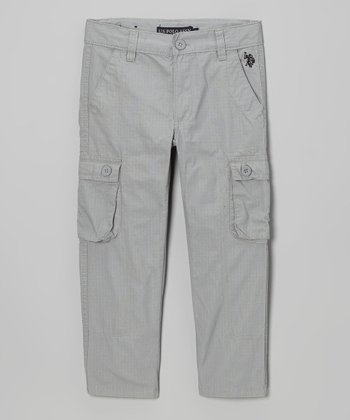 Gray Cargo Pants - Boys