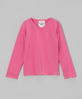 Bright Pink Tee - Infant, Toddler & Girls