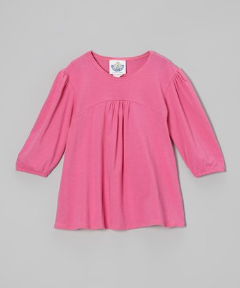 Bright Pink Tunic - Infant, Toddler & Girls