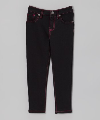 Black & Berry Skinny Jeans - Toddler