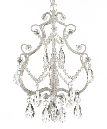 White Princess Crystal Chandelier