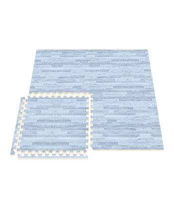 Blue Comfort Mat - Set of Eight