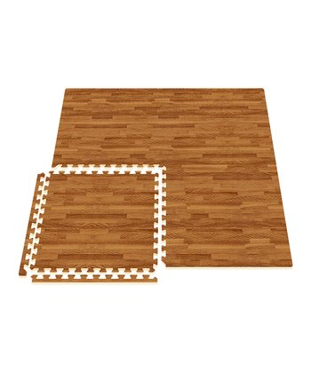 Dark Oak Comfort Mat - Set of Eight