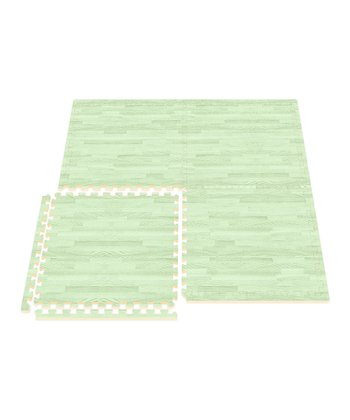 Green Comfort Mat - Set of Eight