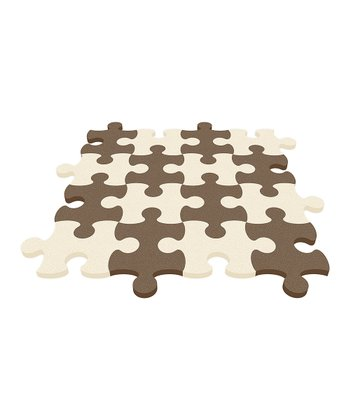 Ivory Puzzle Mat - Set of Eight