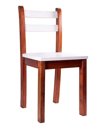 White & Honey Mandy Chair