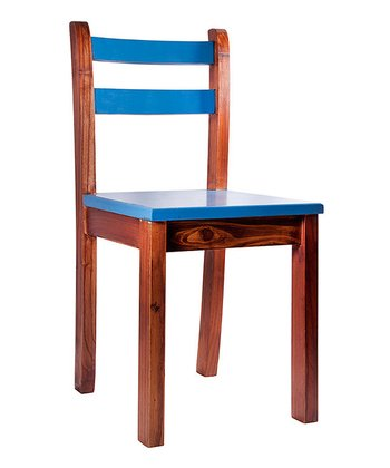 Blue & Honey Mandy Chair