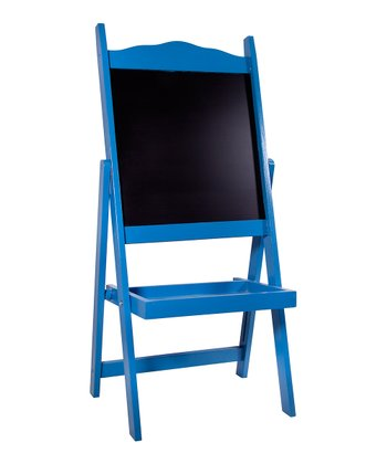 Antique Blue Easel
