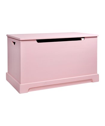 Antique Pink Toy Chest