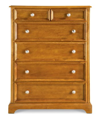 Cocoa Bearrific Five-Drawer Dresser