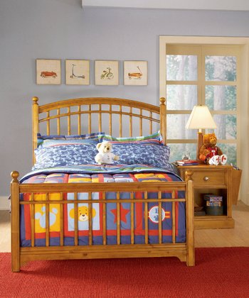 Cocoa Bearrific Bed