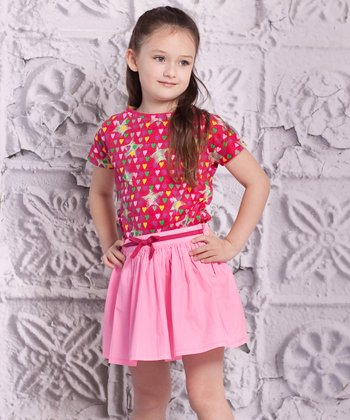Pink Luna Top & Carina Skirt - Infant & Toddler
