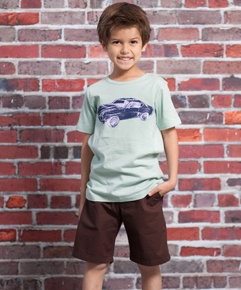 Speed Racer Hunter Tee & Shorts - Infant & Toddler