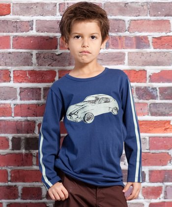Blue Speed Racer Mason Tee - Infant